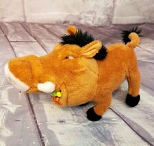 "Applause Disney The Lion King PUMBA Warthog with Grub Bugs 9"" Plush"