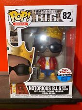 Nycc 2018 Funko Pop! Shared Exclusive: Rocks: Notorious B.I.G. With Crown #82