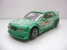 Diecast Bburago BMW M3 DTM Tic Tac Dekra 36 1:43 in Green Good Condition