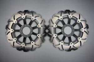 Dischi freno anteriore margherita per Honda CB 1100 SF X11 X-Eleven  2000-2004