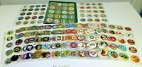 LOT OF 279 POGS WITH SLEEVES IN BINDER / POG, KING FEATURES, POISON ETC