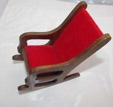 Madame Alexander Kins Doll Chair Rocker Hall's Furniture 1955 Rare