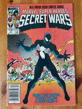 Marvel Super Heroes Secret Wars #8 First Black Costume
