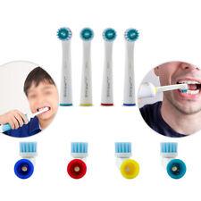 8x Goma Cuidado cabezas de cepillo de dientes sensibles (adulto) Recarga Compatible Braun Oral B UK