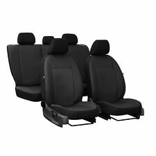 Asiento de coche para referencias ford Tourneo Custom VII 13-8-escaños negro ya referencias referencia