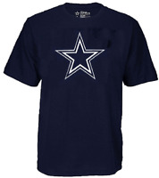 Dallas Cowboys Mens Blue Logo Premier Short Sleeve Tee Shirt