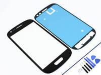 FRONTGLAS für SAMSUNG Galaxy S3 MINI SCHWARZ Glas Display Touchscreen NEU & OVP