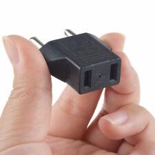 3Pcs US EU Power Plug Adaptateur Converter Prise Voyage Secteur Transformateur