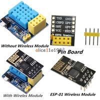 ESP8266 DHT11 Temperature Humidity WiFi Wireless Module Pin Adapter ESP-01/01S