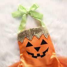 Baby GIRL pumpkin jumpsuit  costume for 18 months