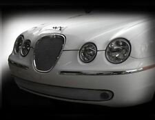 Jaguar S-Type Lower Bumper Mesh Grille (Bright stainless or Black) 2005 - 2007