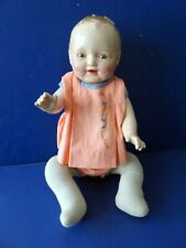 1920's American Character Petite Composition & Cloth Doll - Sleep Eyes - Cute