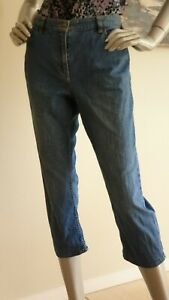 DAVID LAWRENCE women's capri relaxed stretch Jeans. Size 10