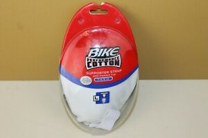 Bike Performance Cotton Supporter Strap w/padded cup TEEN Large L NEW BTPC17