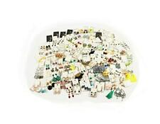 Jewelry Chain Store Liquidation Wholesale Lots Silver Earring 30 Assorted Pair
