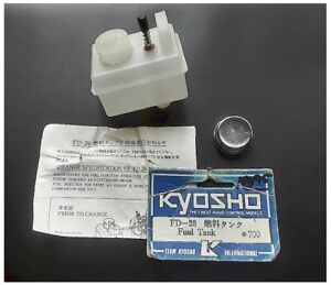 Kyosho FD28 Fuel Tank Ford RS200 Peugeot 405 Rampage ZR1 Jet Stream SeeDescript