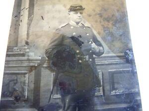 Original American civil war tintype photograph