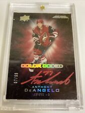 2016-17 Ud BlackAnthony DeAngelo Color Coded Signatures #7/99 Arizona Coyotes