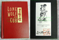 Limited Edition SIGNED Lone Wolf & Cub #141 of 230 Hardcover HC VHTF! BIG PICS!