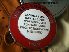 Shelby Cobra USRRC badge emblem script  ERA Kirkham Superformance Factory Five