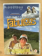 50 WAYS OF SAYING FABULOUS ~ 2005 Fifty Coming of Age Drama | UK DVD