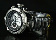 Invicta 50mm Subaqua Noma V SWISS Chronograph Black IP Stainless Steel Watch NEW