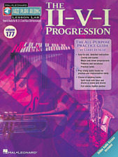 The II-V-I Progression Jazz Play-Along Lesson Lab (Volume 177) MUSIC BOOK/ONLINE