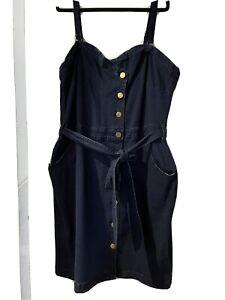 city chic Denim dress L