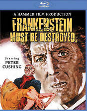 Frankenstein Must Be Destroyed (Blu-ray Disc, 2015) - NEW!!