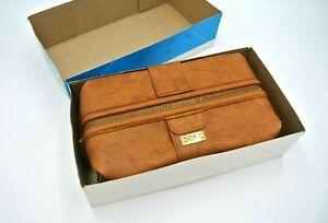Vintage Samsonite Brown Travel DOPP KIT in Box with Tag New Old Stock