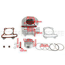57.4mm Cylinder kit Piston Rings GY6 150cc Scooters, ATVs, Go Karts