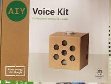 Google AIY Voice - NEW VERSION 2.0 Release  April 15, 2018  includes pi zero WH