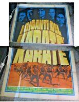 I Giganten Der Karate Manifesto 4F Original 1975 Regia L. Wyk
