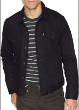 Levis Trucker Jacket Big And Tall Denim Jacket Levis Color Polish Black