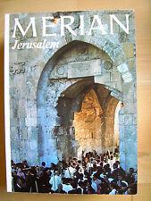 Merian Jerusalem 12/26 Jg 1973