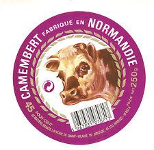 Etiquette de Fromage    Camembert de Normandie - St Hilaire de Briouze No 280