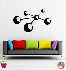 Wall Stickers Vinyl Decal Atoms Symbol Abstract Modern Decor  (z1860)