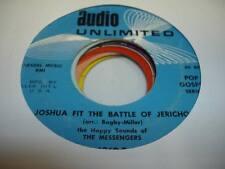 HEAR! Popcorn Soul  45 THE MESSENGERS Joshua fit the Battel of Jericho on Audio