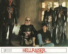 Hellraiser lobby cards - CliveBarker - mini set of 8 - Horror