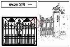 Verlinden 1/35 Wrought Iron Mansion Gates [Photo-etch Diorama Accessory] 59
