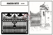 Verlinden 1/35 Wrought Iron Mansion Gates [Photo-etch Diorama Accessory] 59