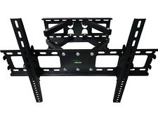 DUAL ARM FULL MOTION TILT LCD LED TV WALL MOUNT BRACKET 42 46 50 55 60 65 70