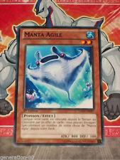 Carte YU GI OH MANTA AGILE GAOV-FR097 x 3