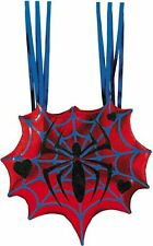 "Ladies "" SPIDERGIRL BAG "" Halloween Metallic Purse Back Hand Accessory Disguise"