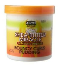 African Pride Shea Butter MIRACLE Hidratante INTENSE Hinchable RIZOS Pudín 425g