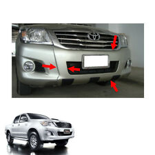Front Bumper Guard Cover Painted 1 Pc For Toyota Hilux Vigo Champ 2011 - 2014