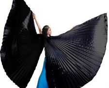 India Egypt Isis Wings Belly Dance Costumes Opening Angel Isis Wings Sticks Bag