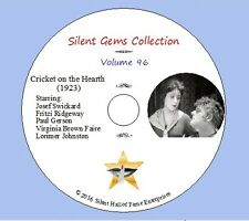 "DVD ""Cricket on the Hearth"" (1923) Classic Silent Drama based on Charles Dickens"