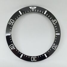 BLACK CERAMIC BEZEL INSERT FOR 44MM ROLEX SEA DWELLER DEEPSEA 116660 - UK STOCK