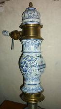 Anciene tireuse bière HEINEKEN Ceramic beer tower pump draft old tap DELFT